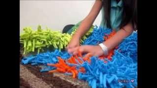 Como hacer un tapete