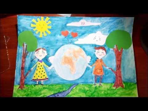 Рисунки на экологическую тему Непоседы