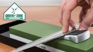 Tutorial #1 Cinco formas fáciles de afilar cuchillos y navajas - Green Zone Outdoor Supplies