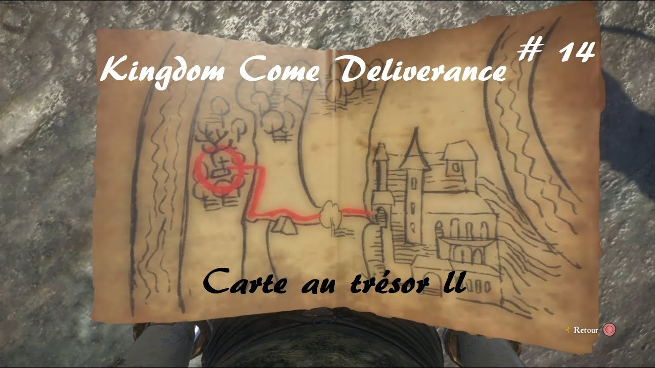 Carte Au Tresor 3 Kingdom Come.Kingdom Come Deliverance Carte Au Tresor Ii