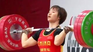 2013 World Weightlifting Championships, Women 69 kg \ Тяжелая Атлетика. Чемпионат Мира