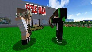 KAAN STYLE VE SEVGİLİSİ MELİS KAVGA ETTİ ! 😱 -Minecraft