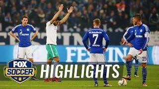 Claudio Pizarro goal gives Werder Bremen 2-1 lead at Schalke   2015–16 Bundesliga Highlights