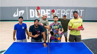 Teaming up with Dude Perfect