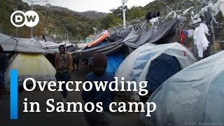 Greece: Refugees suffering on Samos