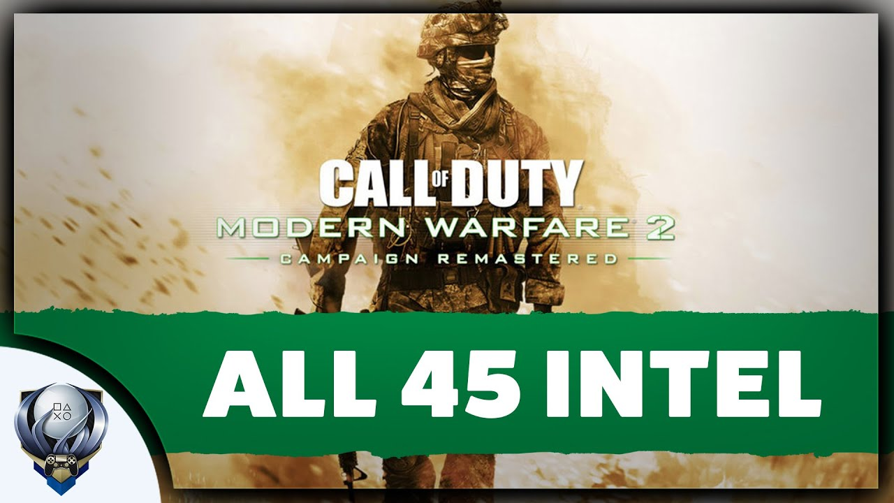 Call of Duty Modern Warfare 2 Remastered - All 45 Intel Locations (Leave No Stone Unturned)