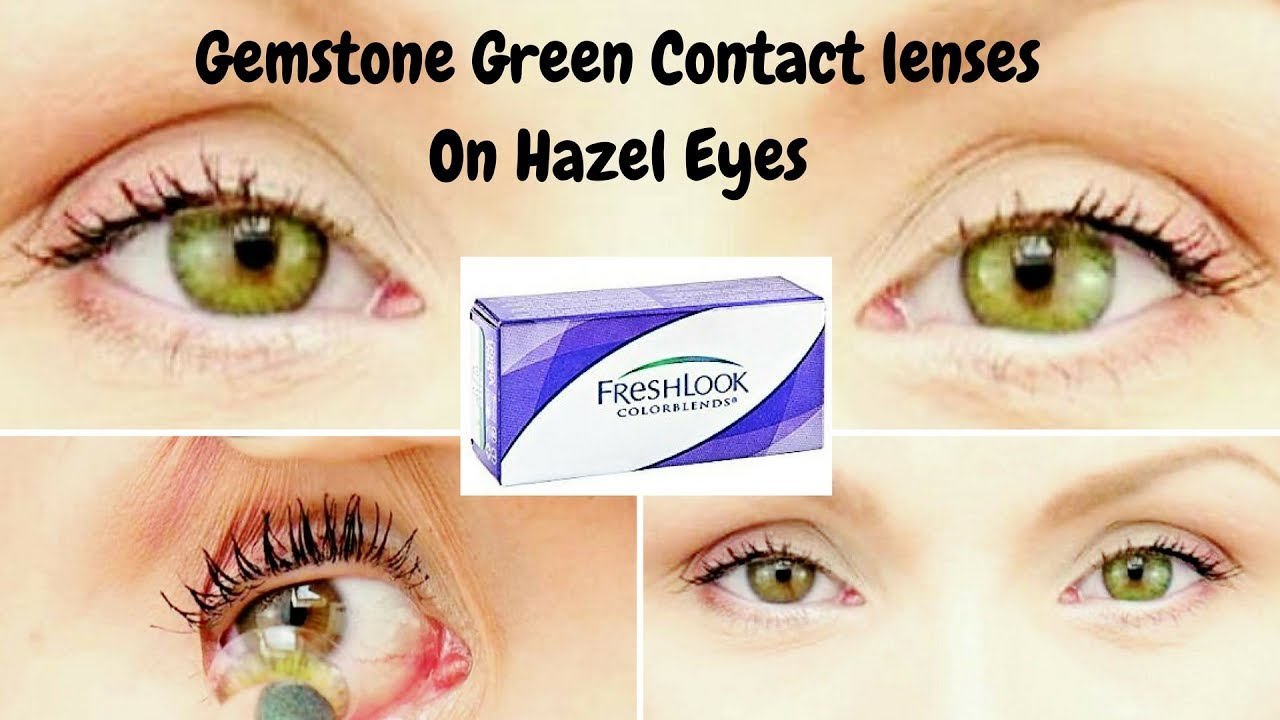 Fresh Look Colorblends Contact Lenses In Gemstone Green
