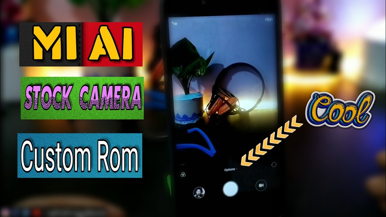 [Mi A1] How to install Stock Camera On Any Custom Rom | in Hindi | Mi A1  Tips & Tricks