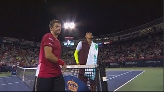 Kyrgios Disrespects Wawrinka - Worst Player Clashes