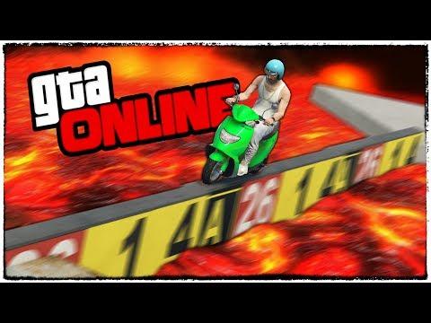 СМЕРТЕЛЬНАЯ ТРОПА НА АДСКОМ СКУТЕРЕ! ГТА 5 (GTA 5 online гонки, приколы, смешные моменты)