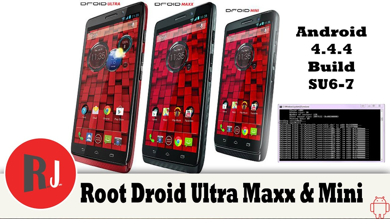 How do I fully root a Motorola Droid Maxx with Android 4 4 4