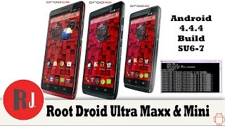 How to Root the Droid Ultra, Maxx, & Mini on Android 4 4 4 build SU6-7