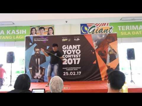 Giant YoYo Contest 2017 Jacky Lee Chun Sing