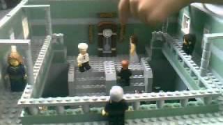 Lego Titanic Grand Staircase