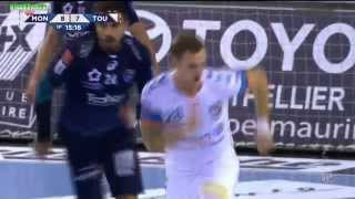 Montpellier VS Toulouse  Handball LNH D1 2015 2016 11e journée