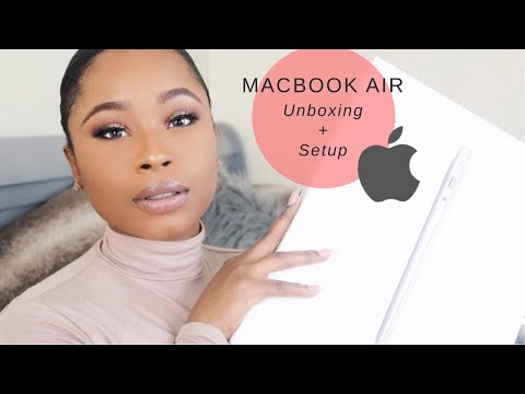 MacBook Air Unboxing and Setup