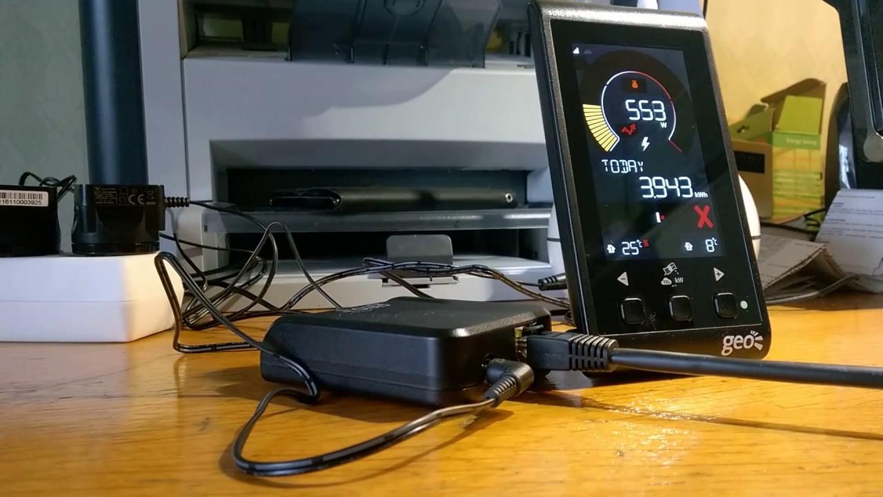 Geo Internet Bridge & Geo Solo II connecting to the internet