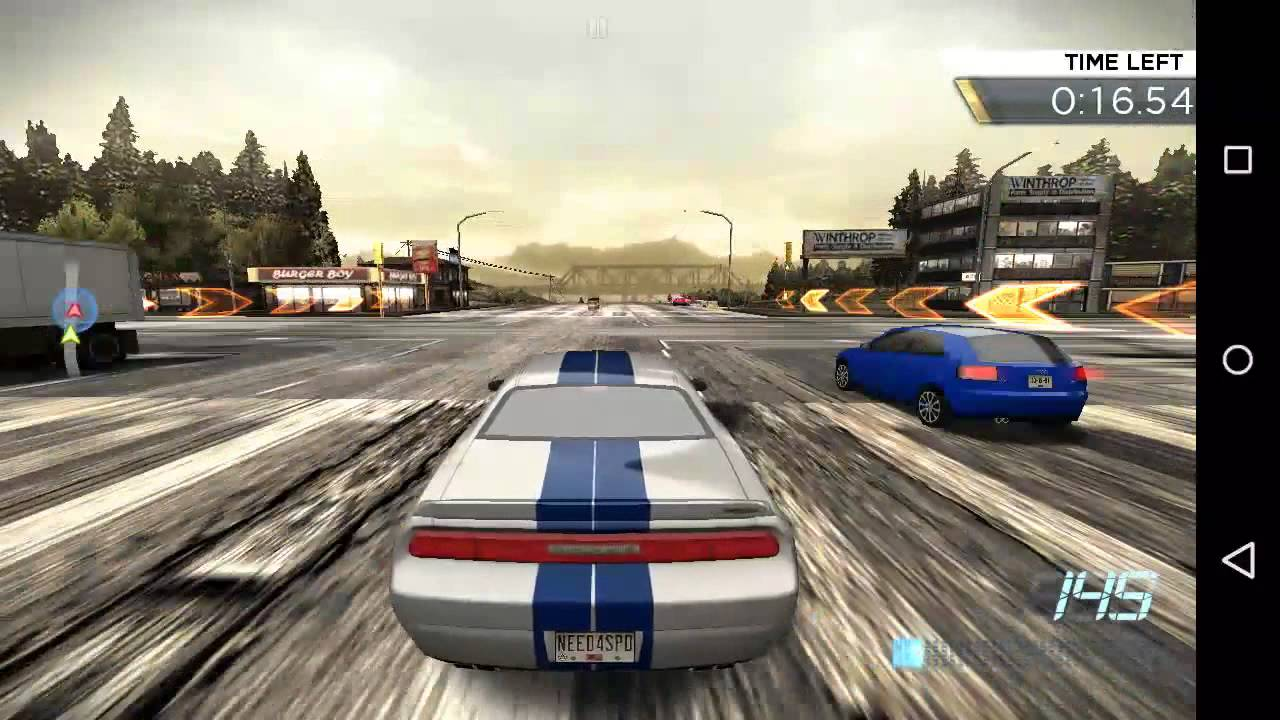 Need for speed most wanted android gameplay hd police for Nfs most wanted android