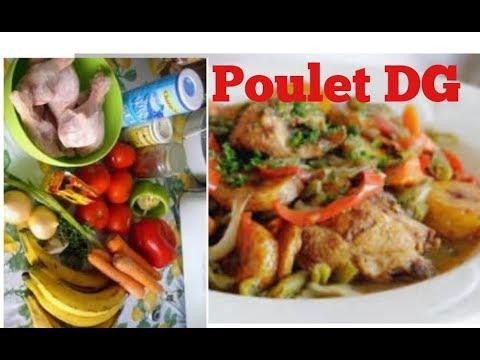 recette-de-poulet-dg-##-repas-camerounais-très-agréable-à-manger