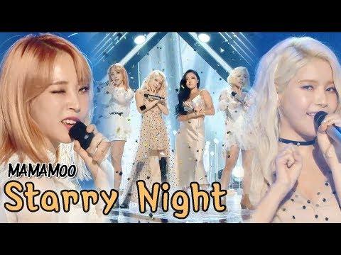 [Comeback Stage] MAMAMOO - Starry Night, 마마무 - 별이 빛나는 밤 Show Music Core 20180310