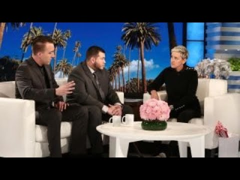 Was Ellen's Vegas guard interview a slick marketing push?