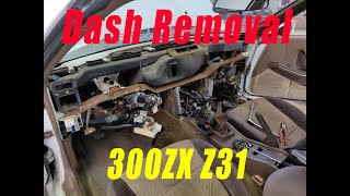 How to Remove Your Dashboard! (300zx Z31)