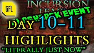 Path of Exile 3.3: Incursion Flashback League DAY # 10-11 Highlights
