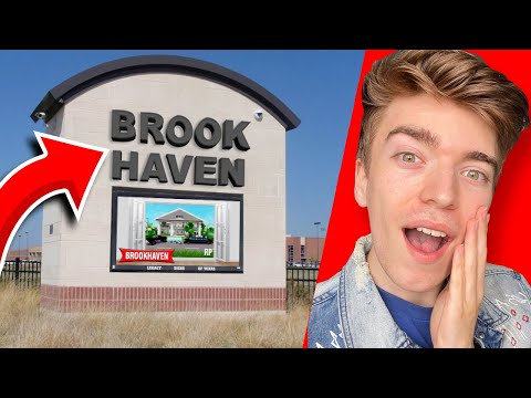 Download I WENT TO BROOKHAVEN TOWN IN REAL LIFE! Roblox Brookhaven Rp Town Real Life VS Game
