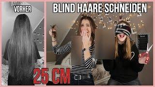 SCHWESTER schneidet BLIND meine HAARE - 25cm! 😱💇🏽♀️ || Typisch Kassii