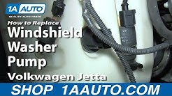 How to Replace Washer Pump 05-11 Volkswagen Jetta