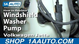 Het Vervangen van de Wasmachine Pomp 05-11 Volkswagen Jetta