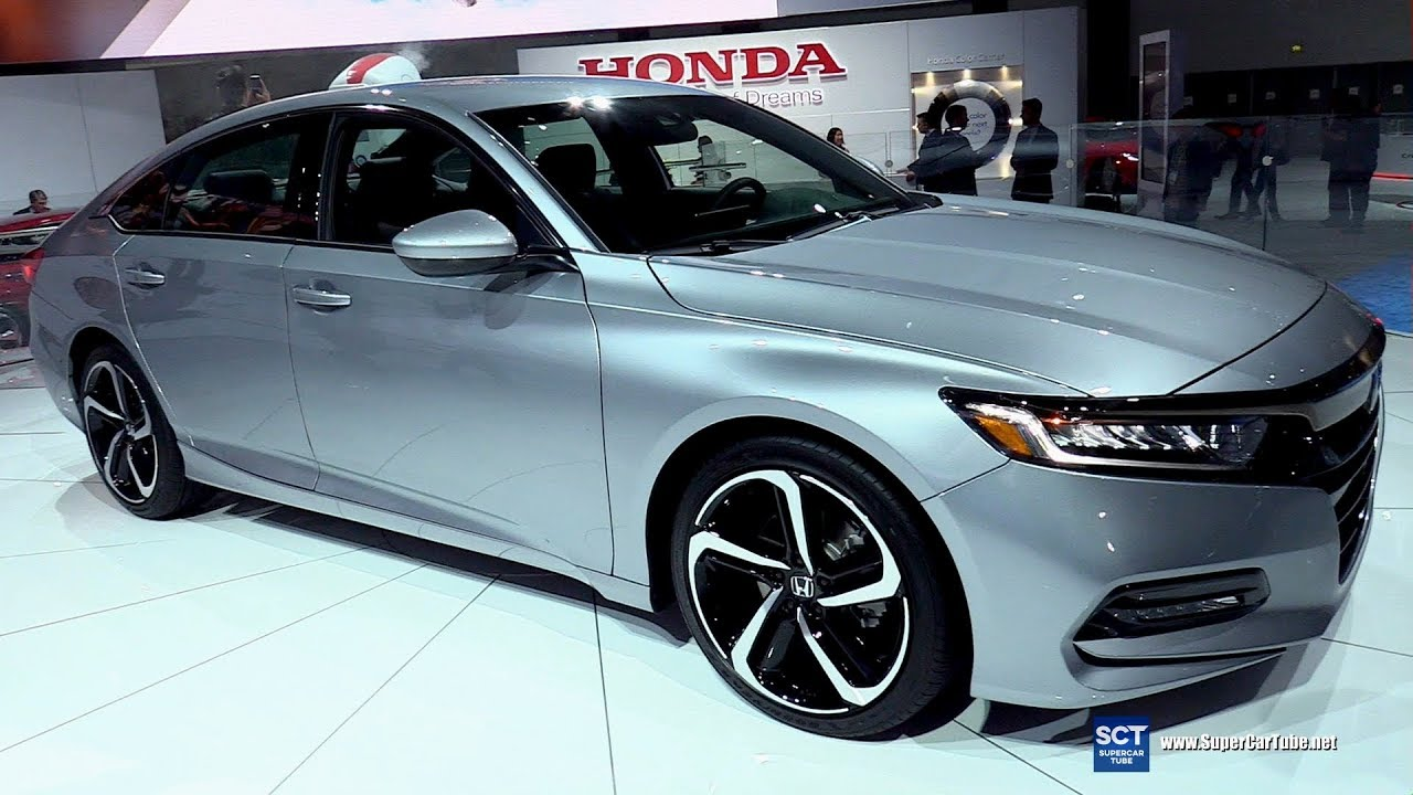 2018 Honda Accord Sport Exterior And Interior Walkaround 2017 La Auto Show