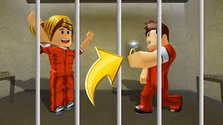 PROPOSING To My GIRLFRIEND In PRISON! (Roblox)