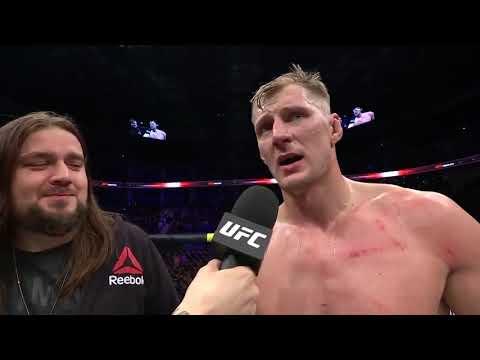 UFC Moscow: Александр Волков - слова после боя