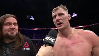 UFC Moscow: Александр Волков - Cлова после боя