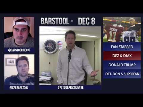 Barstool Rundown // December 8th 2015