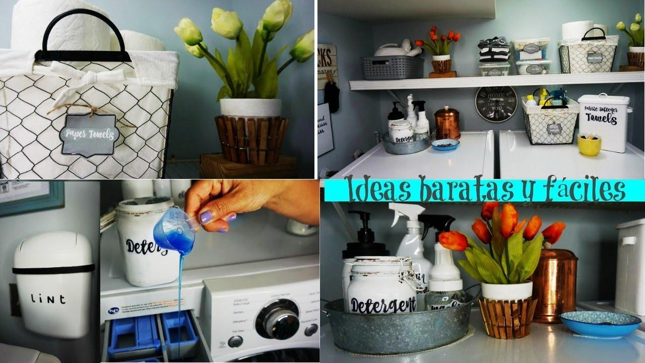 Ideas para decorar tu cuarto de lavado algunos cambios for Ideas para el lavadero