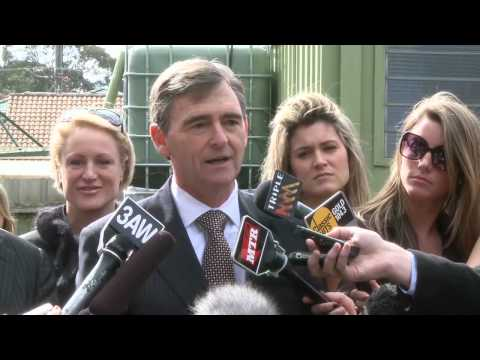 John Brumby - water restrictions to ease in Melbourne