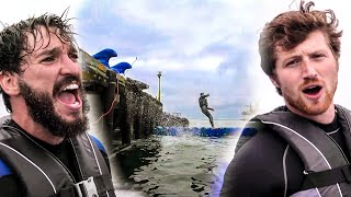 Lost Sport of BARREL JUMPING w/ Scotty Sire (Broken Leg) | FOXTOSSING TV Show