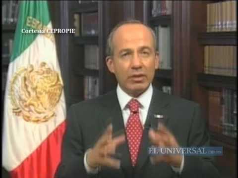 Hogar, el lugar más seguro, afirma Calderón