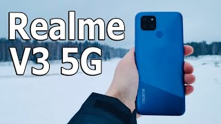 $ 156 FOR A GAMING SMART ? a joke? 🔥 SMARTPHONE Realme V3 5G GUN