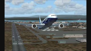 Boeing 787 Dreamliner Rollout and First Flight - FS2004 HD