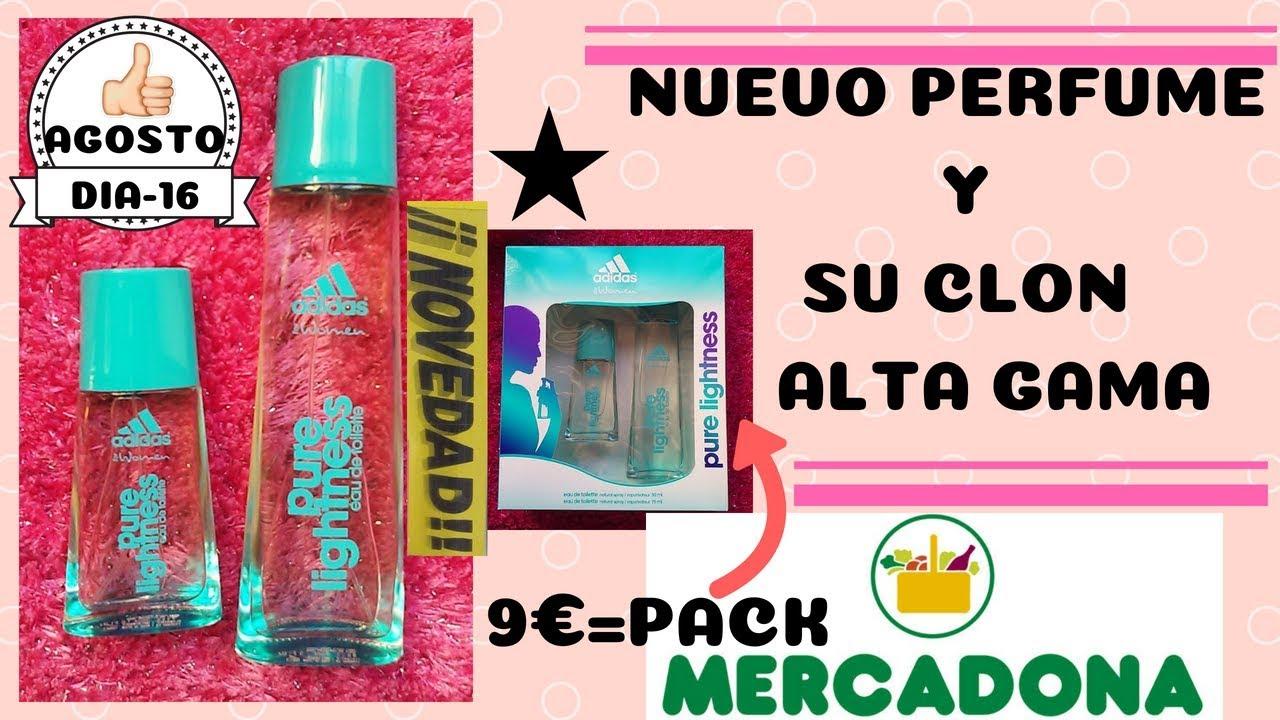 Cerdo álbum Plausible  NUEVO PERFUME MERCADONA ADIDAS Y SU CLON CARO NOVEDAD AGOSTO - YouTube