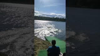 Смотреть видео Каталка , wakeboard , спорт , россия , вейк онлайн