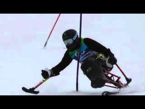 CDY Slalom on DynAccess Torque 2 Monoski.mp4