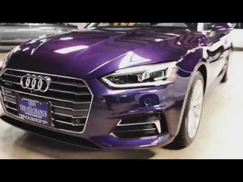2018 Audi A5 in Audi Exclusive Velvet Purple Pearl Effect ...