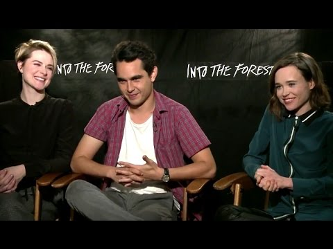Evan Rachel Wood, Ellen Page & Max Minghella Exclusive INTO THE FOREST Interview (2016)