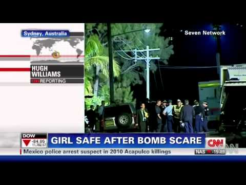 Sydney bomb squad frees teenage girl