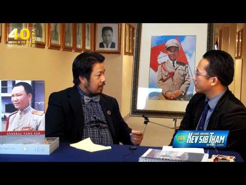 SUAB HMONG TALKSHOW:  Exclusive with Noah Vang, author of the book of General Vang Pao