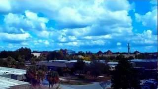 № 1918 Парковка на крыше Университета UCF Orlando FL USA